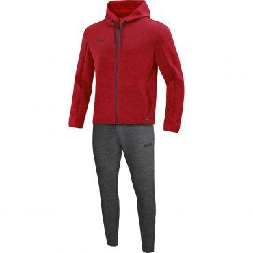 JAKO Joggingpak met kap Premium Basics M9729-01